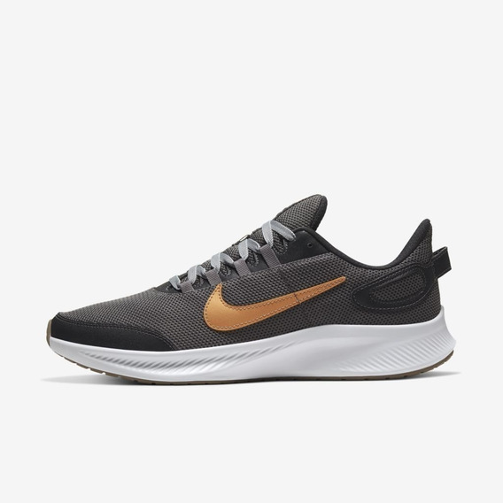 Tênis Nike Runallday 2 Masc. Cinza E Branco - Running