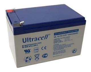 Batería 12v 12ah, Ultracell Diacon