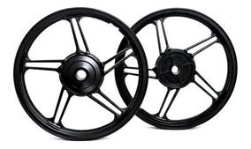 Par Rodas Moto Liga Leve Modelo 5 Titan Fan 125 150 160