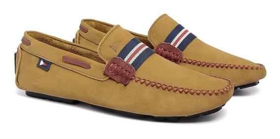 Mocassim Masculino Sapato Sapatenis Casual Original Couro