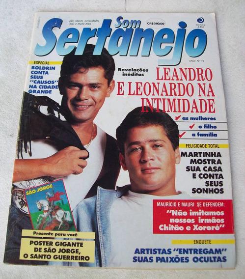 Revista Som Sertanejo Nº 10: Leandro E Leonardo - Saracura