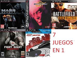 Mass Effect 1,2,3+ Need For Speed + Battlefield + Kof Ps3