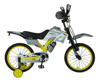 Bicicleta Infantil Moto Cross Rodado 16 Dencar 7111