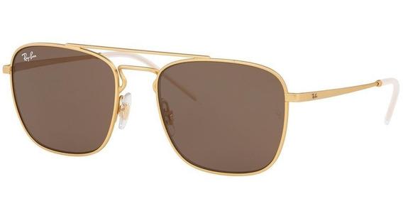 Ray-ban Rb3588 901373 55 - Dourado/marrom Clássico B-15