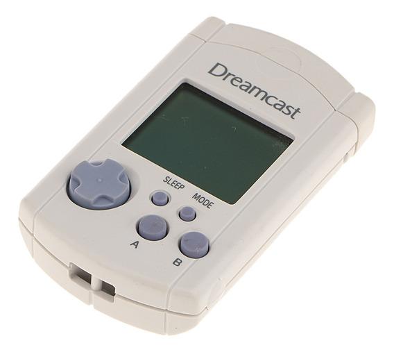 Para A Unidade De Memória Visual Sega Dreamcast /cartão De M