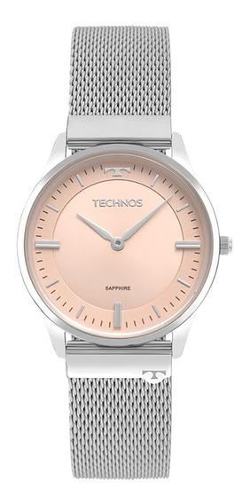 Relógio Technos Classic Slim Feminino 9t22ap/1t