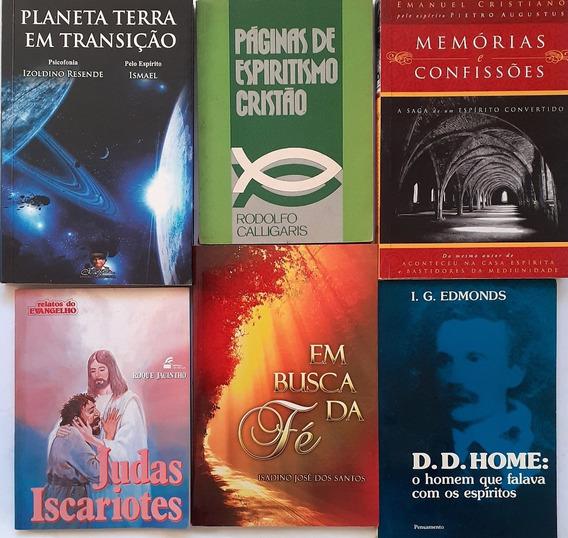 6 Livros Espiritas - Planeta Terra Em Transição + 5 Obras