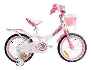 Bicicleta Infantil Royal Baby Jenny Rodado 16 Niña Nena Gm