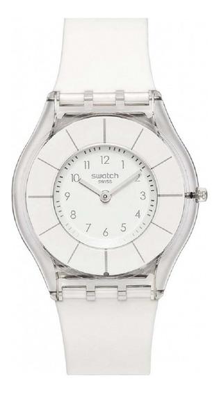 Relógio Swatch White Classiness Feminino Sfk360