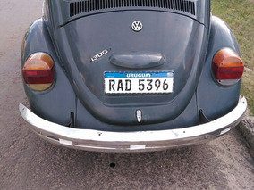 Volkswagen Fusca 1300 Año 72 Fusca