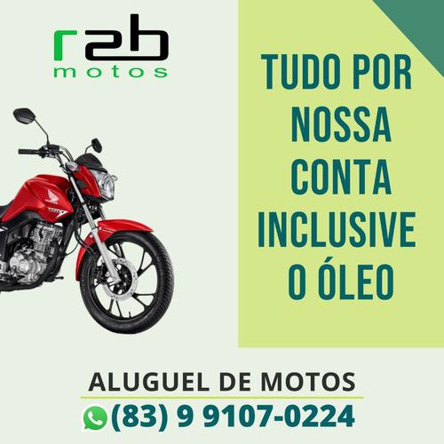 Aluguel / Locação De Motos (menos De 24 Reais Por Dia)