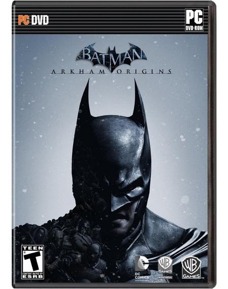 Jogo Batman Arkham Origins Pc Dvd-rom Novo Lacrado
