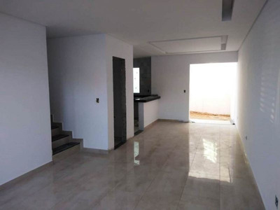 Casa Geminada Com 3 Quartos Para Comprar No Itapoã Em Belo Horizonte/mg - 7620
