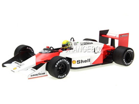 F1 Mclaren Mp4/3 Ayrton Senna Test Car 1987 1:18 Minichamps