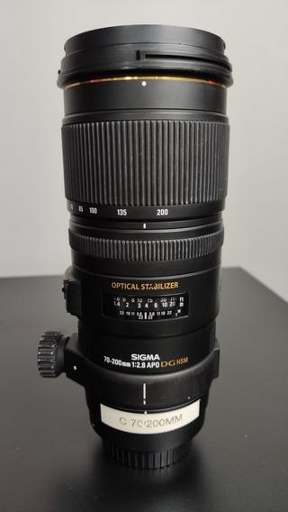 Lente Sigma 70-200mm F/2.8 Para Canon