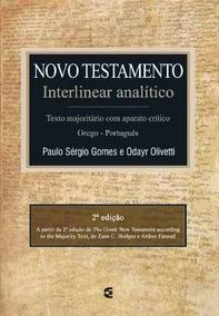 Novo Testamento Interlinear Analítico Grego Português 2@ Ed