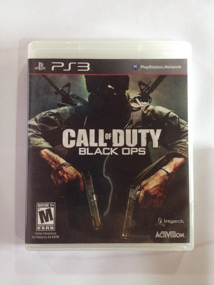 Jogo Call Of Duty Black Ops - Midia Fisica - Semi Novo - Ps3