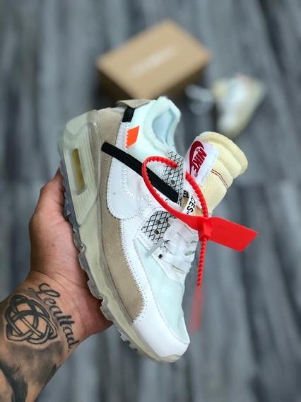 Nike * Air Max 90 Off White * Importados * Vietnam * Damas