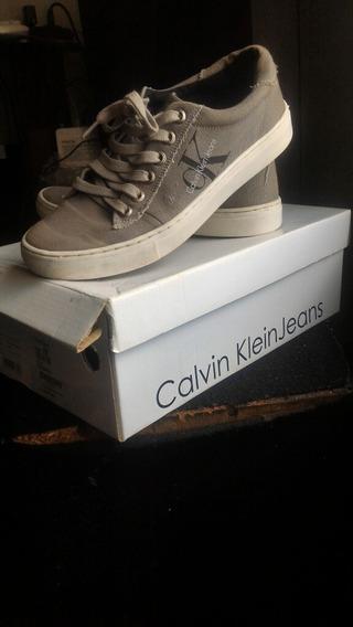 Tênis Calvin Klein Jeans Original Seminovo, Usado 2 Vezes