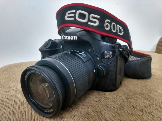 Canon 60d+lente+flash+pilhas+cartão 32gb