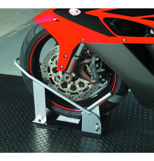 Cuña De Rueda Para Motocicleta Wheel Chock - Orp