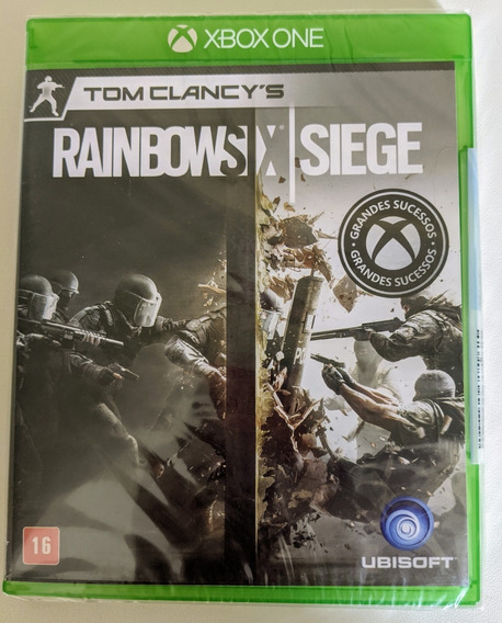 Tom Clancys Rainbow Six Siege - Xbox One - Novo Lacrado!
