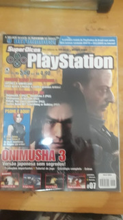 Revista Playstation Onimusha 3 Original