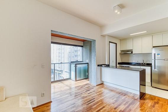 Apartamento Para Aluguel - Itaim Bibi, 1 Quarto, 50 - 893093791