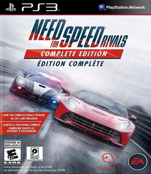 Need For Speed Rivals + Dlcs Jogos Ps3 Dublado Playsation 3