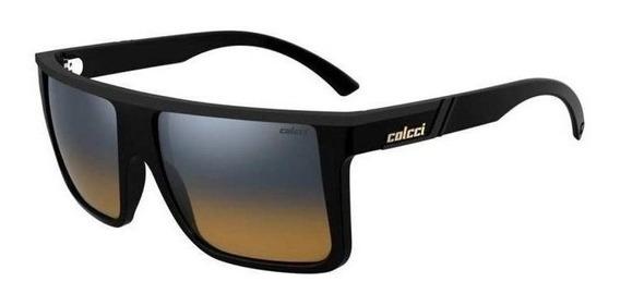 Oculos Sol Colcci Garnet 501200123 Preto Lente Espelhada