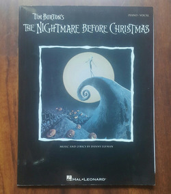 Partituras - The Nightmare Before Christmas - Piano & Vocal