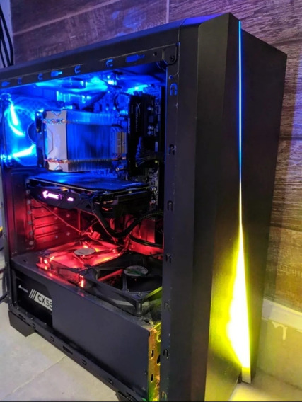 Pc Gamer Ryzen 7 1800x / Rx580 8gb / Ssd