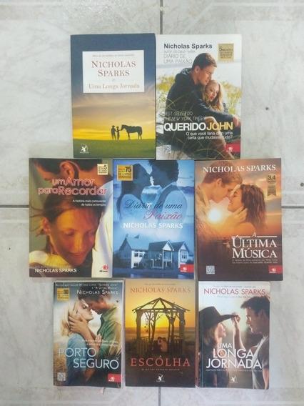 Coleção Livros Nicholas Sparks
