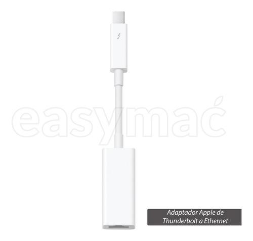 Adaptador Thunderbolt A Gigabit Ethernet Apple
