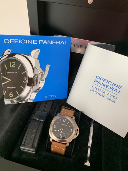 Panerai Luminor Pam00176, 44mm Como Novo Caixa/documentos!