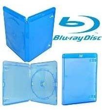 30 Unidades Estojo Blu-ray Amaray Azul Transparente(lacrado)