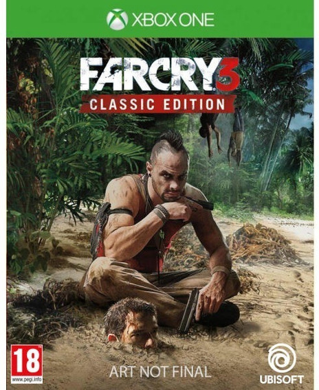 Far Cry 3 Classic Edition Xbox One Codigo 25 Dígitos