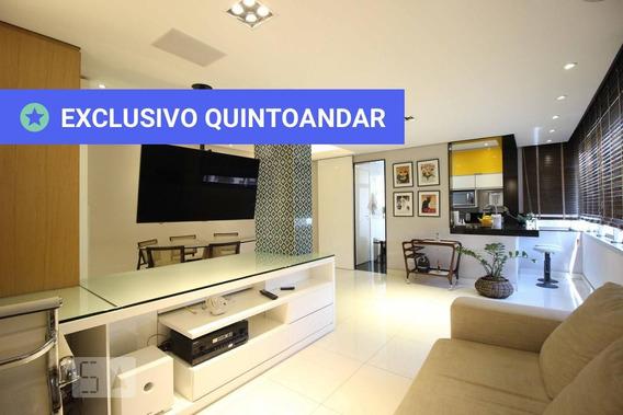 Apartamento No 9º Andar Mobiliado Com 2 Dormitórios E 2 Garagens - Id: 892976789 - 276789