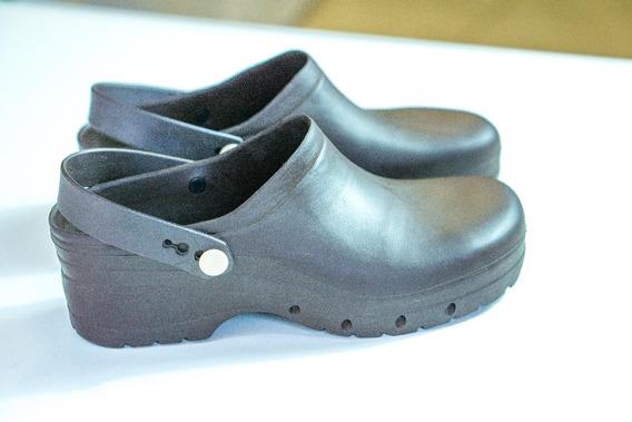 Calzado Zuecos Goma Gastronomia Sanidad Lavable Profesional