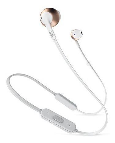 Fone De Ouvido Jbl Tune205 Bluetooth Rosê (modelo 205bt)