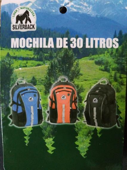 Mochila Silverback Camping 30 L. Excelente Calidad