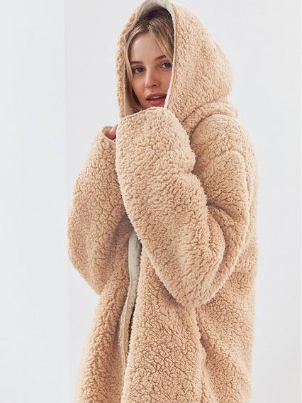 Casaco Térmico Jaqueta Lã Carneirinho Ideal Para Frio Intens