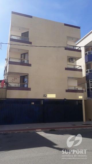 Apartamento De 02 Quartos Na Praia Do Morro - V-1944