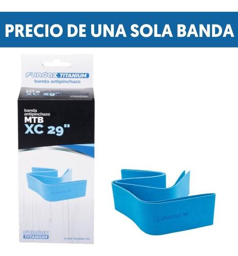 Una Banda Antipinchazo Fundax Mtb 29 De Serraje Y Titanio