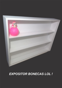 Estante Expositor Bonecas Lol Surprise Opção 1
