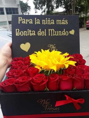 Arreglos Florales Con Chocolates Niki Fresas