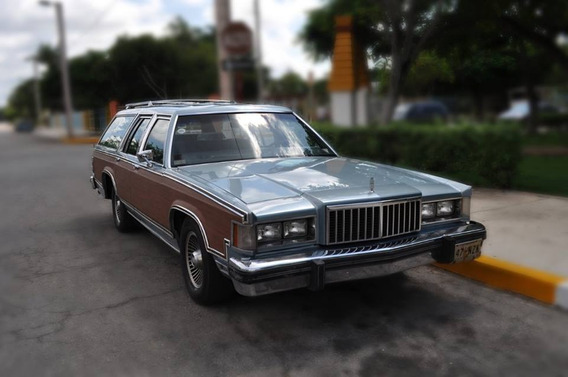 Ford Guayin Grand Marquis 1984 Clasica Original Impecable.