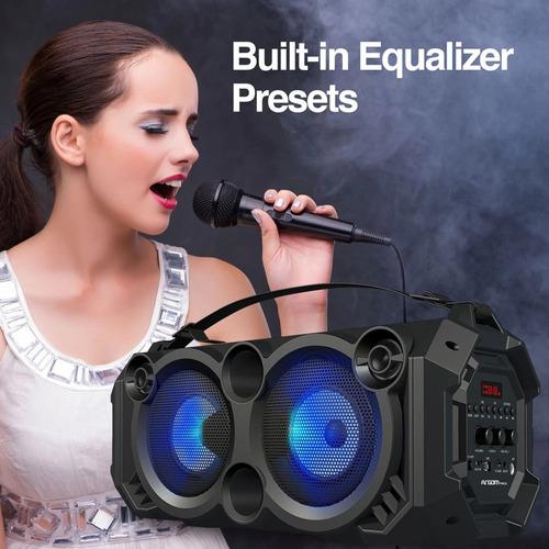 Slambox Led Plus Beats Wireless Bt, Karaoke, 22w *itech