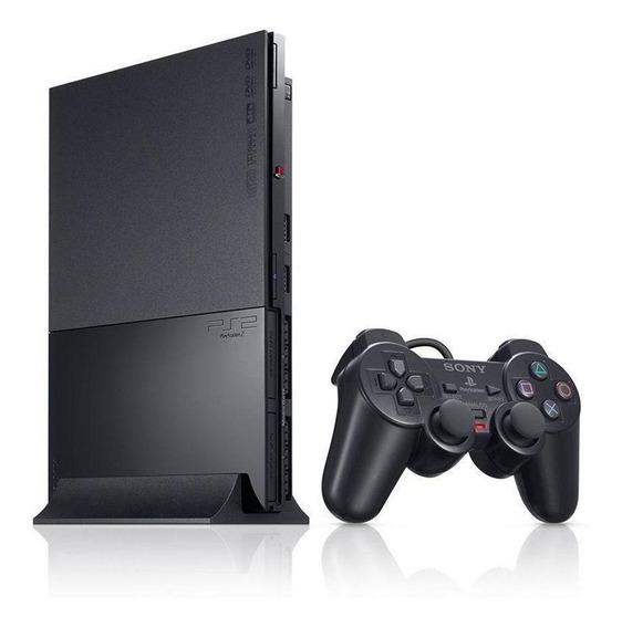 Console Playstation 2 Preto Sony Japonês Pronta Entrega