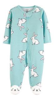 Enterito Pijama Carters ® Osito 0 A 9 Meses Algodon 100% Towel C/ Pie Etiqueta Original